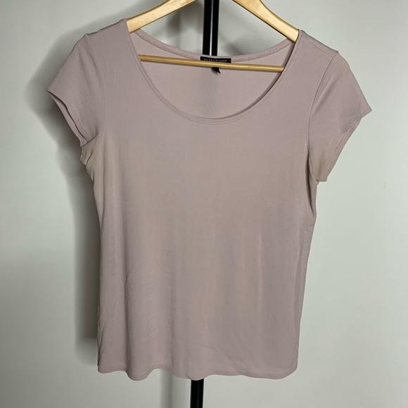 Eileen Fisher Tops - Eileen Fisher Pink Short Sleeve Crew Neck Shirt